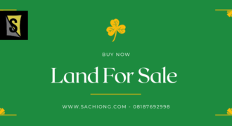 Two Plots Of Land Facing Express Ogidan