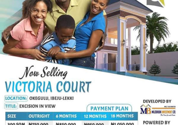 All You Need To Know About Victoria Court E Istate Okegulu Ibeju lekki it