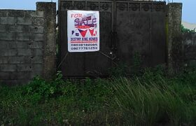 Fully fenced 1 plot of land for sale