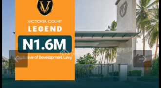 Plots Of Dry Land In Victoria Court Estate Ibeju Lekki