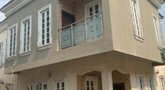Lovely 5bedroom duplex