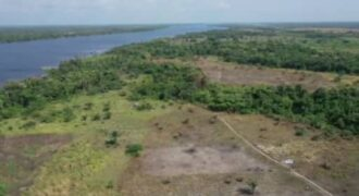 Beautiful Water-Front Land with Good Title Document for Residential Purpose