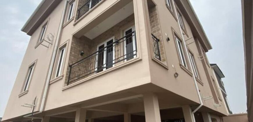 2 units of brand new 3 bedroom flat with a bq locate